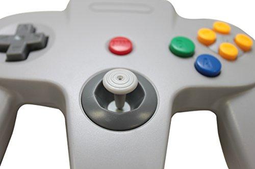 Controlador con cable USB Classic Retro Retro N64 Bit para PC y MAC - Gris