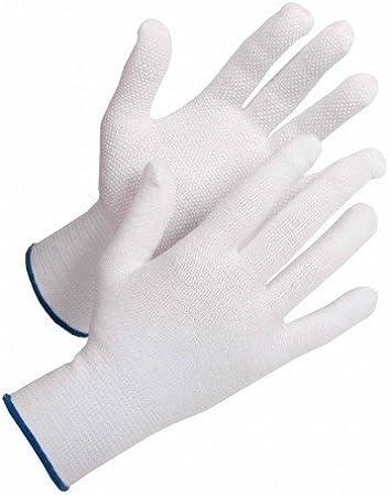 Guante de algodón Front Tard, con botones de PVC 12 pares, talla 10 XL: Amazon.es: Bricolaje y herramientas