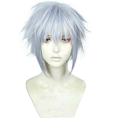 magic acgn Short Straight Cosplay Wig For men Christmas Wig  ]()
