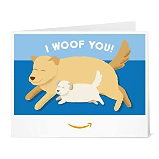 Amazon Gift Card - Print - I Woof You (B01N9YXL5H) | Amazon price tracker / tracking, Amazon price history charts, Amazon price watches, Amazon price drop alerts