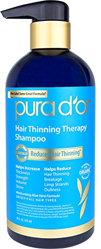 PURA D'OR Hair Thinning Therapy Shampoo & Conditioner Set