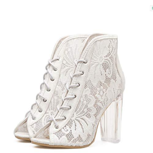 Sposa store in Lacci Comodi con da Tacco Alti Shoe Alto 3 Pizzo 36 Tacchi Colore a Dimensioni 1nqgPp0w