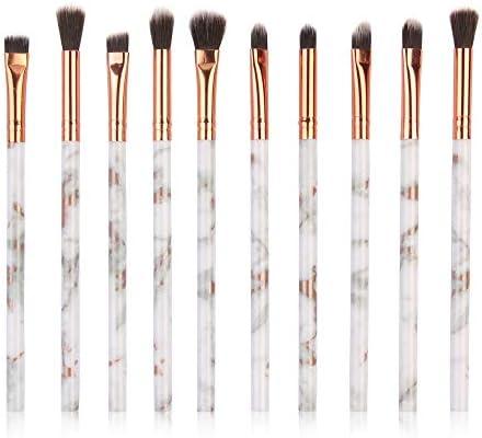 Cocoty-store 2019 Brochas de Maquillaje 10 piezas Pinceles de maquillaje professional fibra sintética para las cejas, base de maquillaje, polvos, crema, Set de brochas de maquillaje(Multicolor): Amazon.es: Belleza
