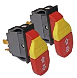 Skil 3310 10' Table Saw (2 Pack) Replacement Switch # 2610958888-2pk