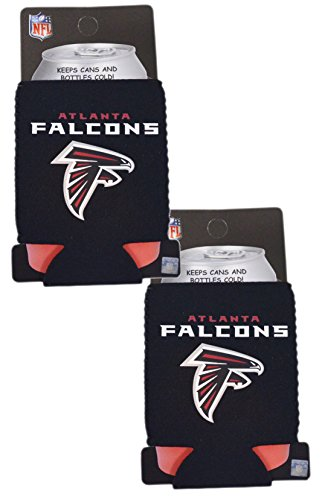 Official National Football League Fan Shop Authentic 2-Pack NFL Insulated 12 Oz Can Cooler (Atlanta Falcons)
