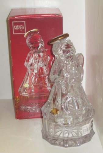 Mikasa Golden Stars Angel Covered Glass 8