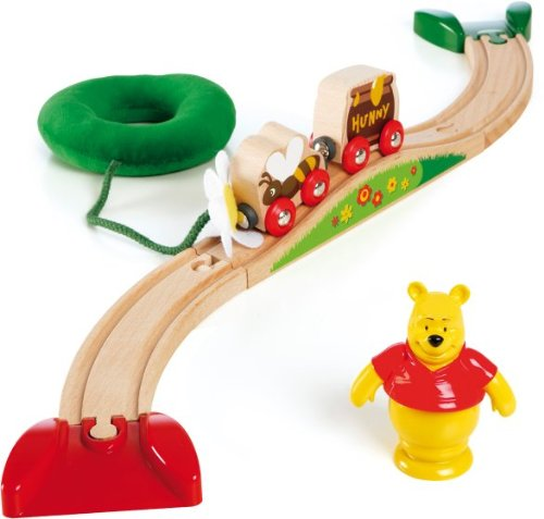 Disney Brio 32213 My Friends Tigger and Pooh Winnie's Honey Pot Set 173553 Infants_Preschool Preschool Toys