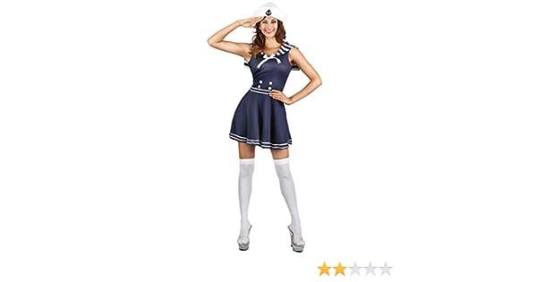 Generique - Disfraz Marinera Mujer XS: Amazon.es: Juguetes y juegos