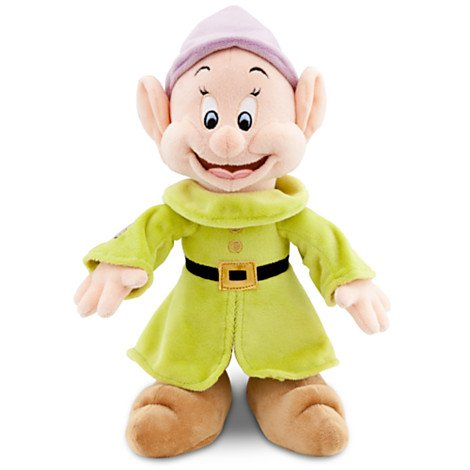 Disney Snow White and the Seven Dwarfs: Dopey Plush -- 11'' H