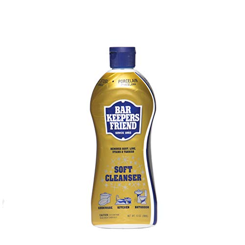 - Bar Keepers Friend Soft Cleaner Premixed Formula | 26-Ounces | (2-Pack)