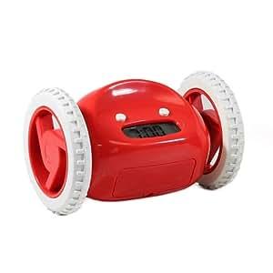 Amazon.com: Clocky Alarm Clock On Wheels, Red: Home & Kitchen