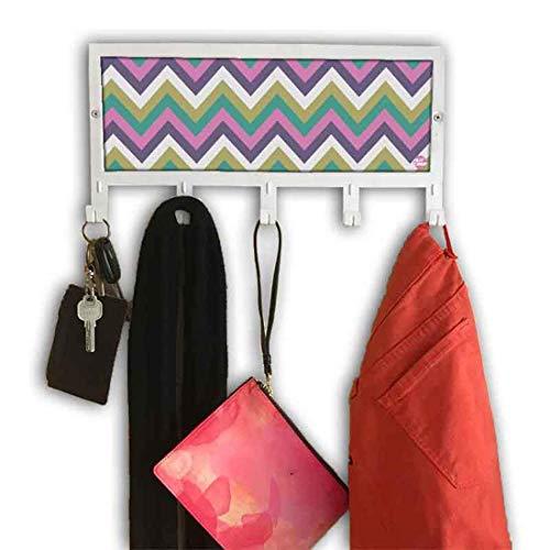 Nutcase Designer Door Wall Hook Hanger Holder Rack for Hanging Clothes Bags Hats Towels 15