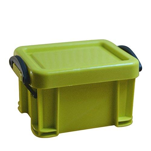 Premium Storage Box Green - dezirZJjx Storage Container Premium Mini Plastic Jewelry Necklace Pill Storage Box Case Organizer Holder Container - Green