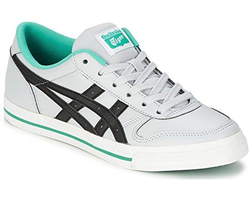 Asics Onitsuka Tiger Aaron Unisex Sneaker Schuhe Farbe: Grau/Schwarz (1090); Größe: EUR 41.5 | US 8 | UK 7