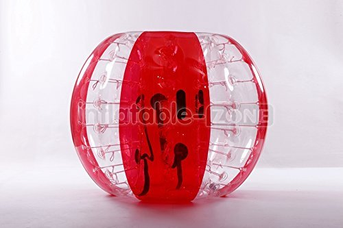 Inflatable-ZoneTM Bubble Soccer Bubbles, bumper ball, human hamster ball, bubble football - Red Flower