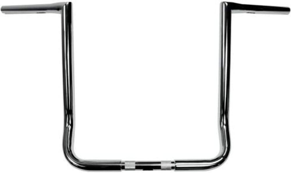 Chrome 14 Inches LA CHOPPERS LA-7361-14 11//4-Inch Twin Peaks Touring Handle Bar