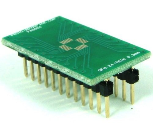 Proto-Advantage QFN-24-THIN to DIP-24 SMT Adapter (0.5 mm pitch, 4 x 4 mm (Qfn Dip Adapter)