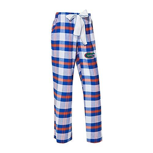 Concepts Sport University of Florida Gators Women's Flannel Pajamas Plaid PJ Bottoms ()