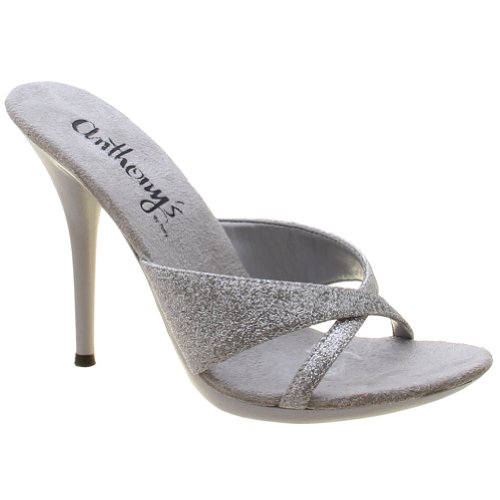 Cross 5 Criss Inch Pump - Anthony's By Tony Women's Ladies Clubwear Party Exotic Dancing Slip on 5