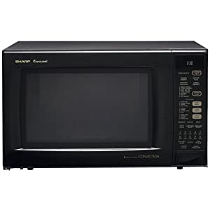Sharp R-930AK 1-1/2-Cubic Feet 900-Watt Convection Microwave – I'll finish the review when I get the unit back from the service center