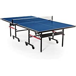 STIGA Advantage Competition-Ready Indoor Table Tennis Table with Excellent Playability, Easy Storage and 10-minute Assembly