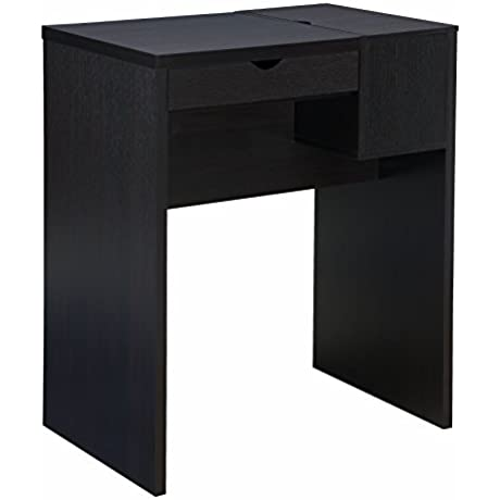 IoHOMES Perry Modern Stand Up Desk Bar Table Cappuccino