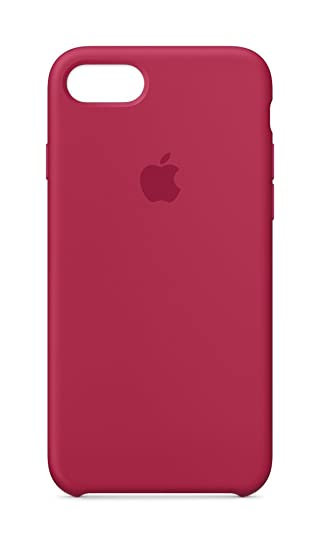 promo code b4ff7 7a309 Apple Silicone Case for iPhone 8/7 - Rose Red