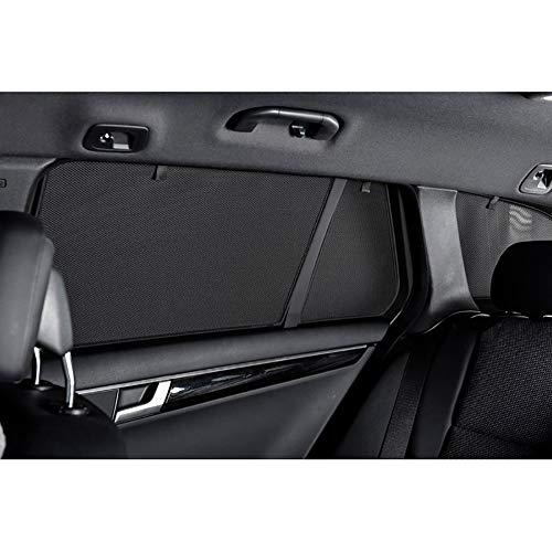 Car Shades REN-MEGA-5-C set geschikt voor Renault Megane IV 5-deurs 2016-(4-delig), zwart