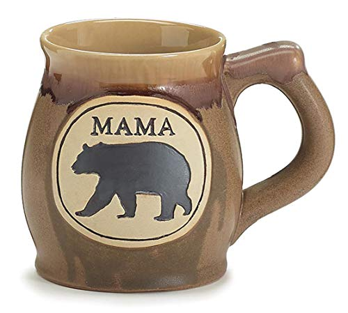 (burton+Burton Mama Bear Porcelain Mug, Brown, 12oz.)