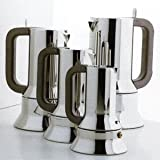 Alessi 9090/M Stovetop Richard Sapper Espresso Maker 10 Cups