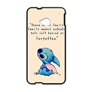 Happy lilo and stitch Phone Case for HTC One M7