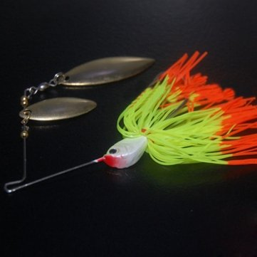 Hard leurres Spinner Lure Pêche métal haute de Bait Lure Bait buzzbait Rotary qualité WAP8SW
