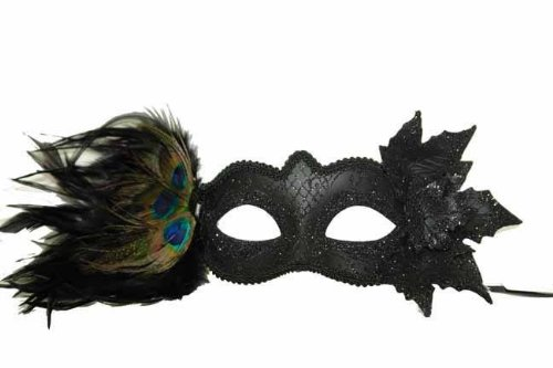 Magni (Black Beauty Feather Mask)