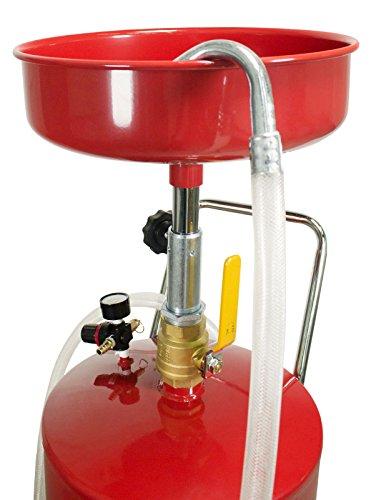 Dragway Tools 18 Gallon Oil Waste Drain Tank Pan for Lift Jack Hoist Shop Crane by Dragway Tools (Image #3)