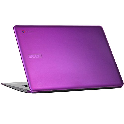 mCover Hard Shell Case for 15.6 Acer Chromebook 15 CB515 Series (NOT Compatible with Older C910 / CB5-571 / CB3-531 Series) Laptop (Purple)