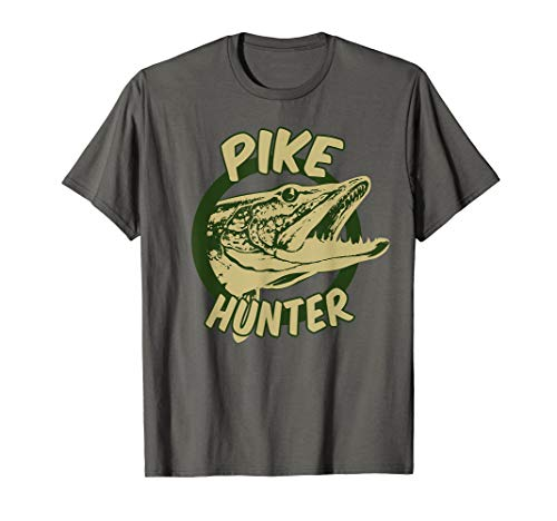 Pike Hunter T-Shirt | Northern Pike Fish Lovers Tee Gift