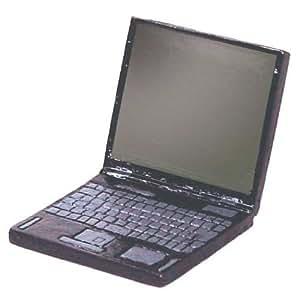 Dollhouse Miniature Laptop Computer
