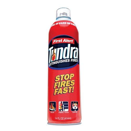 First Alert AF400 Tundra Fire Extinguisher Aerosol Spray