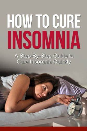 How Cure Insomnia Step Step ebook product image