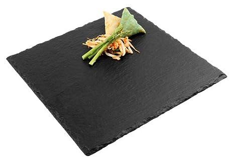 Piatti Cucina In Ardesia : Aps piatto quadro cm ardesia amazon casa e
