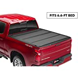 "BAK BAKFlip MX4 Hard Folding Truck Bed Tonneau Cover | 448121 | Fits 2014-18, 19 Limited/Legacy GM Silverado, Sierra: Limited/Legacy; 2014 1500, 15-19 ALL 6'6"" Bed"