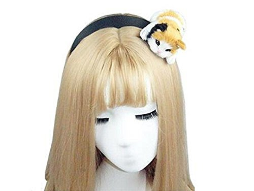 Wendin Cute Womens Girls Attractive Vivid Cat Ear Headband Hair Band For -