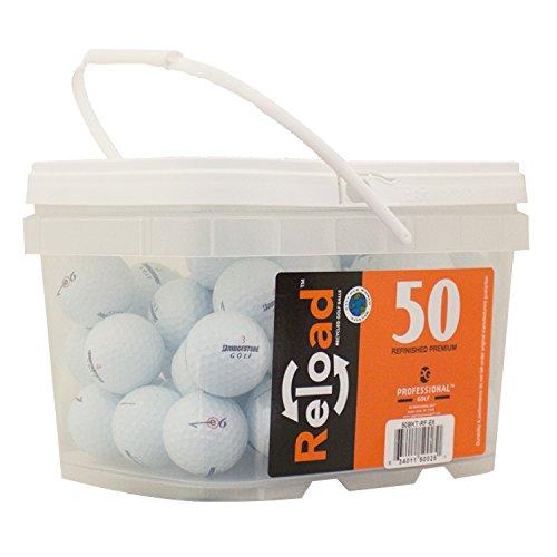Bolas de golf reacabadas Bridgestone E6 (paquete de 50)
