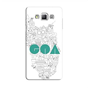 Cover It Up Goa Hard Case For Samsung Galaxy A5, Multi Color
