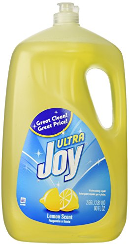 Joy Ultra Dishwashing Liquid, Lemon Scent, 90-ounce ()