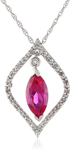 10k-White-Gold-Created-Ruby-and-Diamond-Pendant-Necklace-18