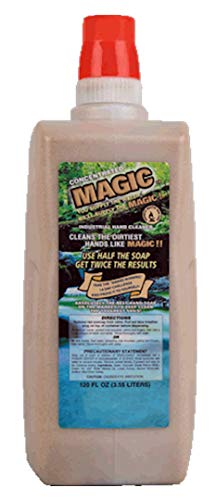 - MAGIC CONCENTRATED HAND CLEANER (CASE OF 4, 120 OZ JUGS)