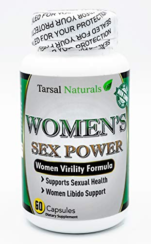 Women's Sex Power 60 Capsules Formula Support Libido Levels Stamina Sexual Enjoyment. Natural Lubrication Support Mood Enhancer Sexual Activity Made in USA Gluten Free FDA Registered Facility ()