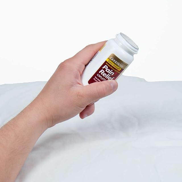 GoodSense Acetaminophen Extra Strength, Pain Reliever/Fever Reducer Caplets, 500 mg, 100 Count