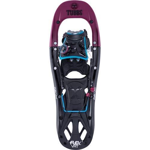 Tubbs Snowshoes Women's Flex VRT Backcountry Snowshoes, Black/Plum, 22 in.